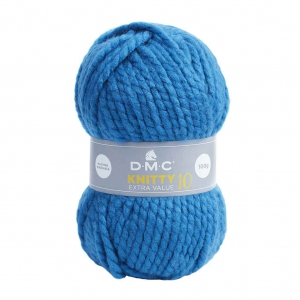 DMC Laine Knitty 10 - Bleu Pétrole (n°740) x 82m - Perles   Co 8d6c112836d