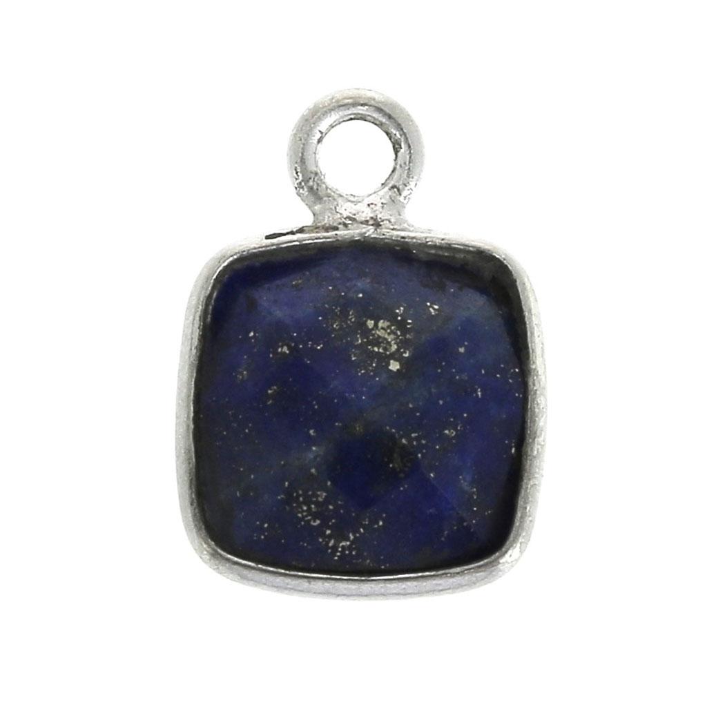 lapis lazuli collier argent