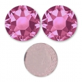 Strass Hotfix Swarovski 5 mm Rose x36