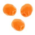 Facettes 4 mm Mandarine x50
