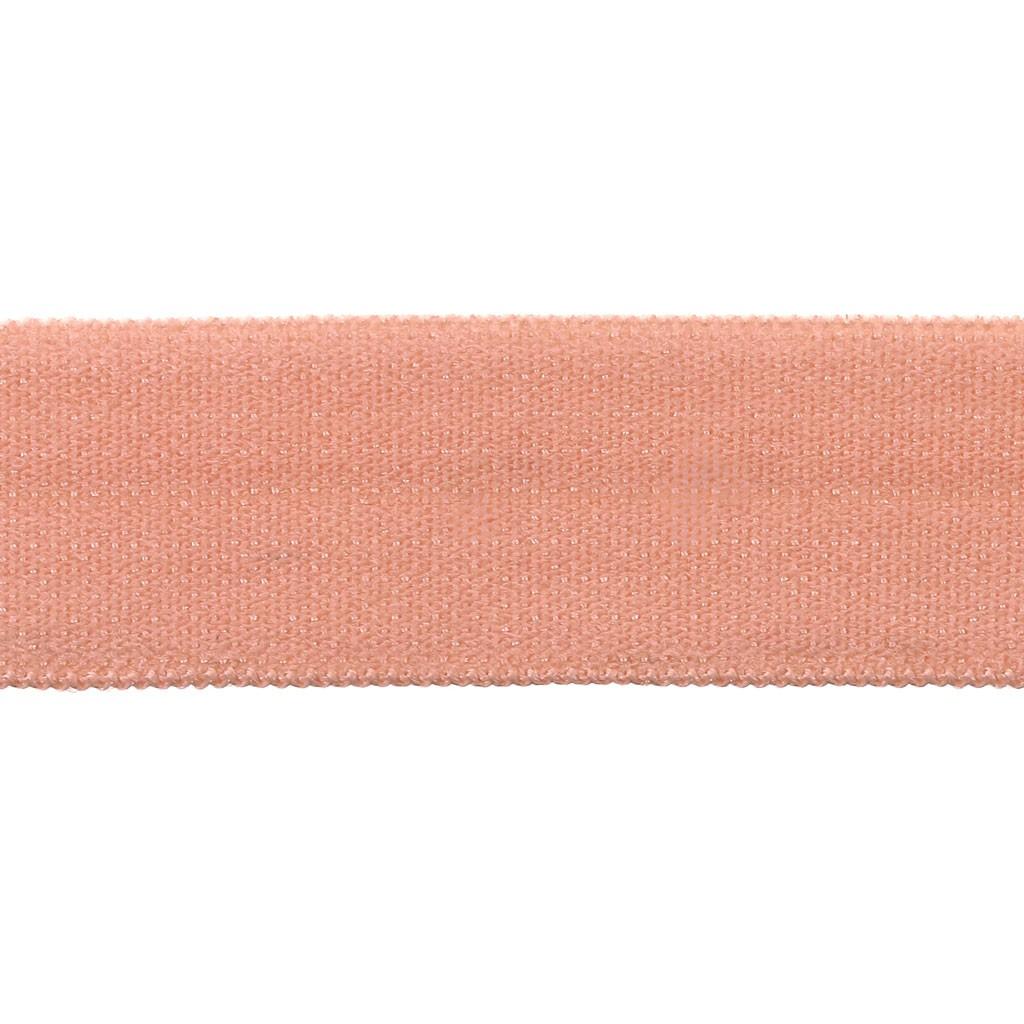Comment Faire La Couleur Saumon ruban élastique satin effet brillant 15 mm - saumon x 1m