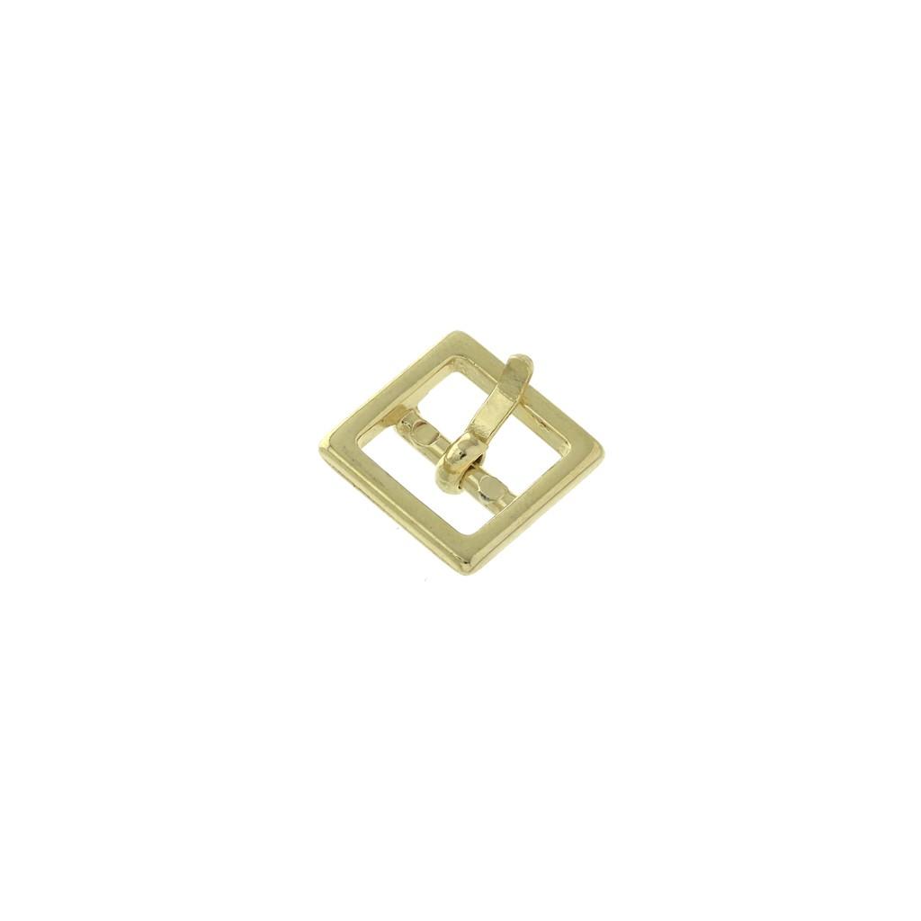 professionnel de la vente à chaud nouveaux produits chauds prix le plus bas Boucle de ceinture à griffe pour ceintures DIY personnalisées 10 mm carré  doré x1