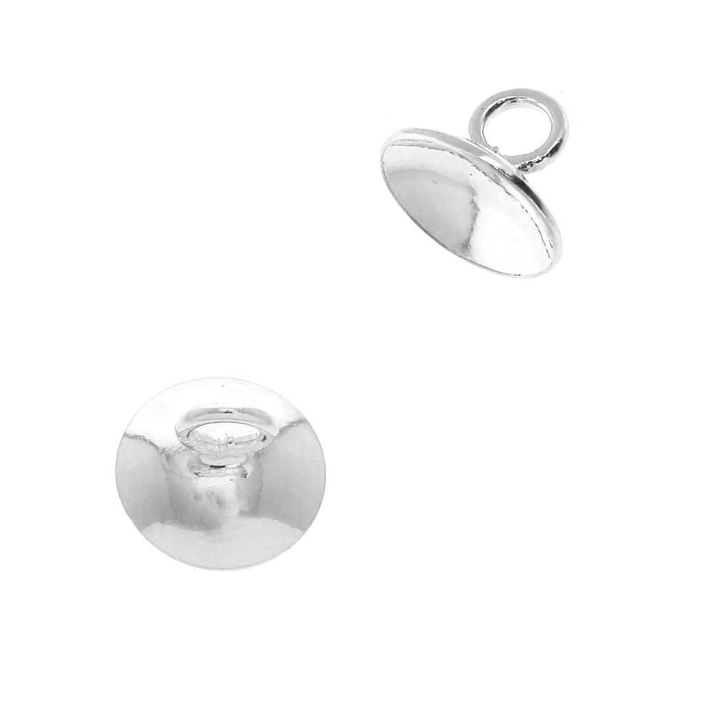 Attache tétine /& doudou métal Ovale support p// personnalisée 1 Pince bretelle