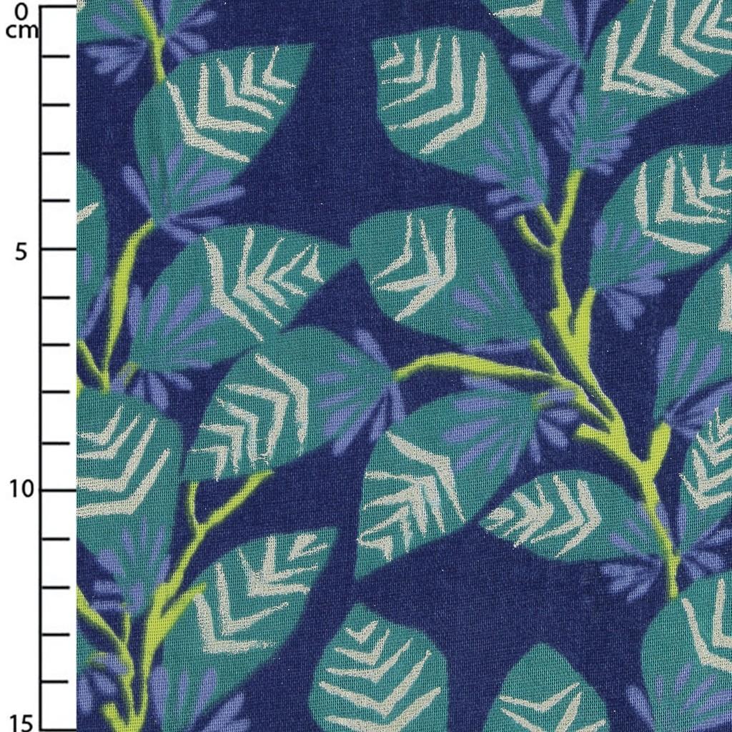 motif thermocollant poupée chinoise en tissu coloris bleu et turquoise