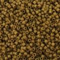 Miyuki Delicas 11/0 DB0665 - Mat Opaque Mustard x8g