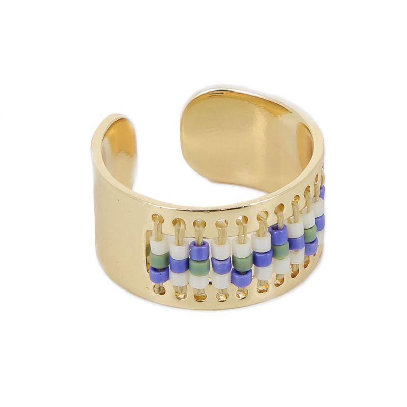 Bien-aimé Bague éco spécial tissage de perles Miyuki pour des créations DIY  DP56