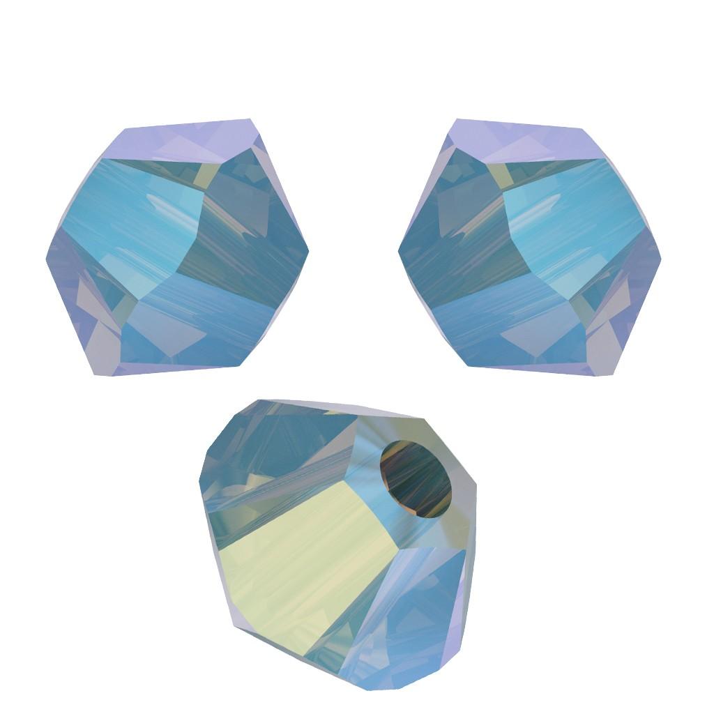 Toupies en cristal Swarovski 3 mm Pacific Opal Shimmer 2X x50