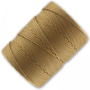 Fil C-LON Beading Cord 0,50 mm Antique Gold x 82 m