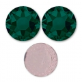 Strass Hotfix Swarovski 4 mm Emerald x36