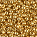 Rocaille Miyuki Duracoat 8/0 4202 - Galvanized Gold x8g
