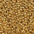 Rocaille Miyuki Duracoat 11/0 4202 - Galvanized Gold
