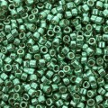 Miyuki Delicas Duracoat 11/0 DB2505 -  Galvanized Dark Mint Green x8g
