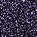 Miyuki Delicas Duracoat 11/0 DB2510 - Galvanized Lilac Night x8g