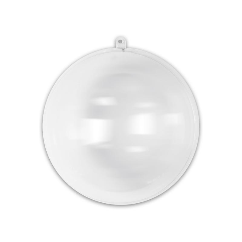 Boule de Noël transparente à garnir 70 mm x1   Perles & Co