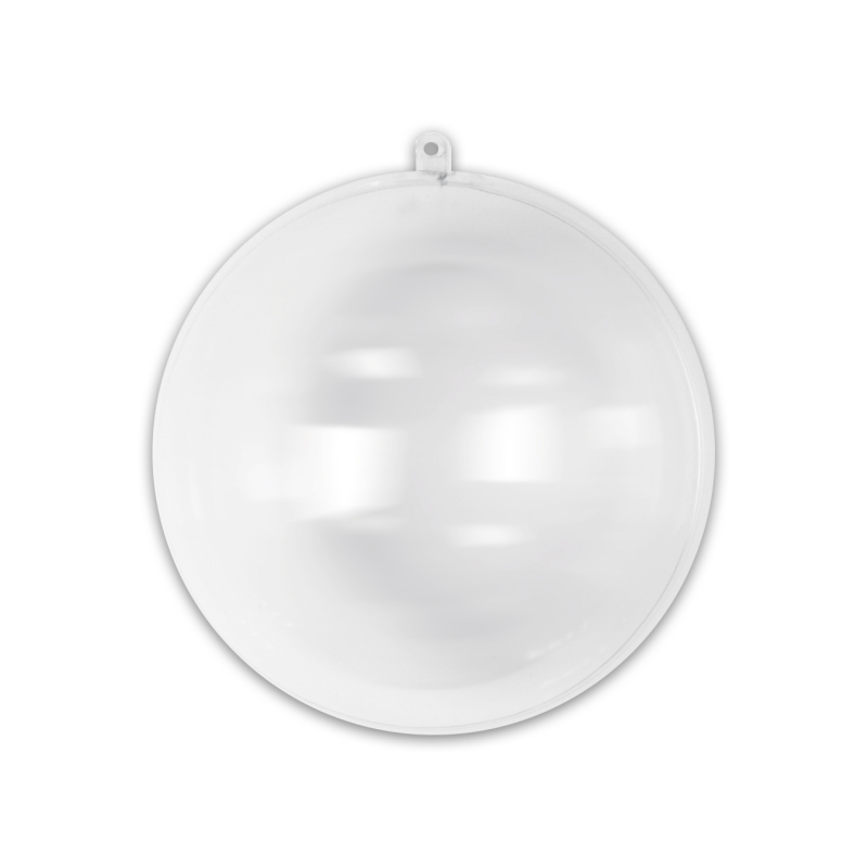 Boule de no l transparente garnir 70 mm x1 perles co for Boule de noel plastique a decorer