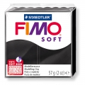 Pâte Fimo Soft 57gr Noir (n°9)