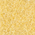 Miyuki Delicas 11/0 DB0053 - Light Yellow Lined Crystal AB x8g