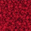 Miyuki Delicas 11/0 DB0753 - Mat Opaque Red x8g