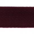 Sangle chevrons 25 mm Bordeaux x1m