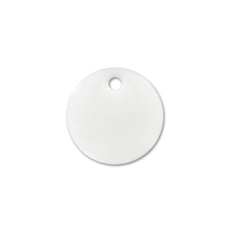 ronds r sine poxy 12 mm blanc x8 perles co. Black Bedroom Furniture Sets. Home Design Ideas