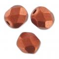 Facettes 3 mm Red Copper Mat x50
