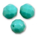 Facettes 3 mm Green Turquoise x50
