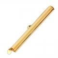 Embout pour tissage de perles rocailles & Delicas Miyuki 40 mm doré x1