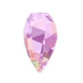 Twisted Drop Swarovski 6540 12mm Crystal Lilac Shadow x1