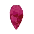 Twisted Drop Swarovski 6540 12mm Ruby x1