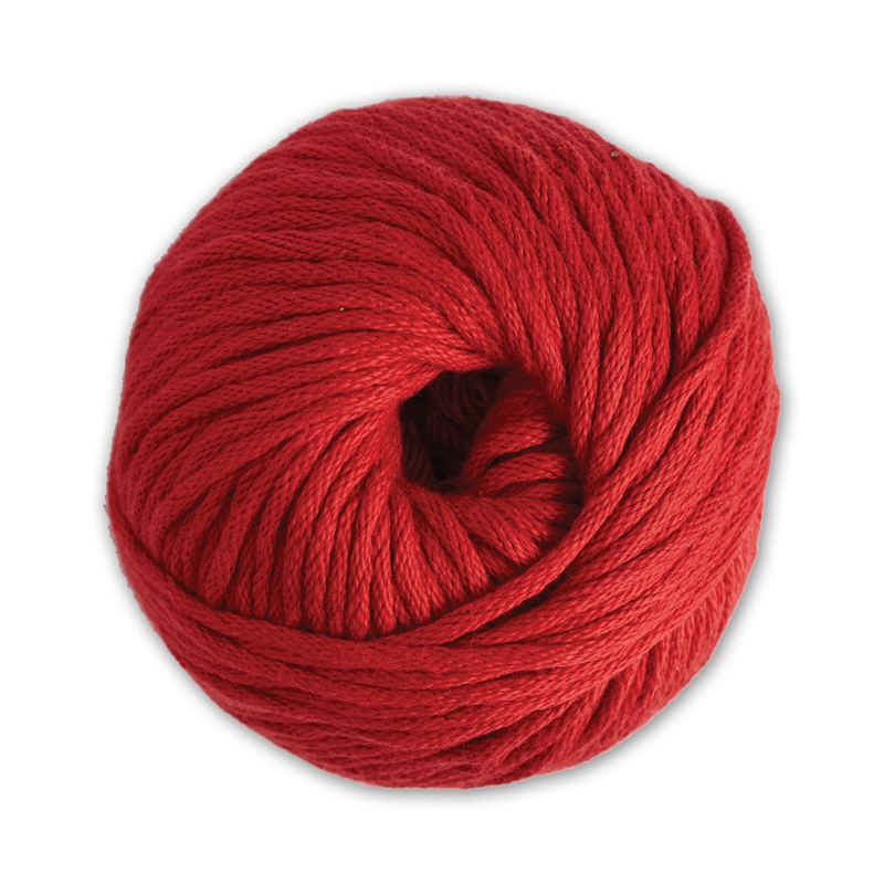 coton natura xl dmc pelote coton rouge n 05 x 75m. Black Bedroom Furniture Sets. Home Design Ideas