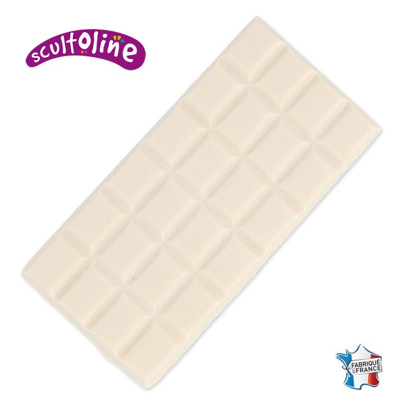 tablette de mati re fondre scultoline chocolat blanc x120gr sc perles co. Black Bedroom Furniture Sets. Home Design Ideas