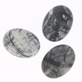 Cabochon ovale 40x30 mm Jaspe Picasso