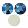 Strass à coller en cristal Swarovski 6 mm Crystal Metallic Blue x10