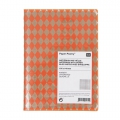 Paper Poetry bloc notes losanges 105x140 mm Orange Fluo x1