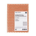 Paper Poetry bloc notes chevrons 80x105 mm Orange Fluo x1