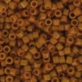 Miyuki Delicas 11/0 DB2109 - Duracoat Opaque Sienna x8g