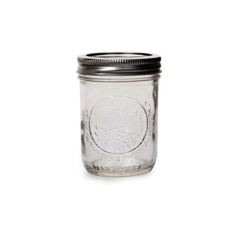 bocal en verre mason jar ball pot mason 8 oz 240 ml x1 perles co. Black Bedroom Furniture Sets. Home Design Ideas