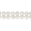 Swarovski Crystal Mesh 40001 2 rangs 5,3 mm Crystal  x5cm
