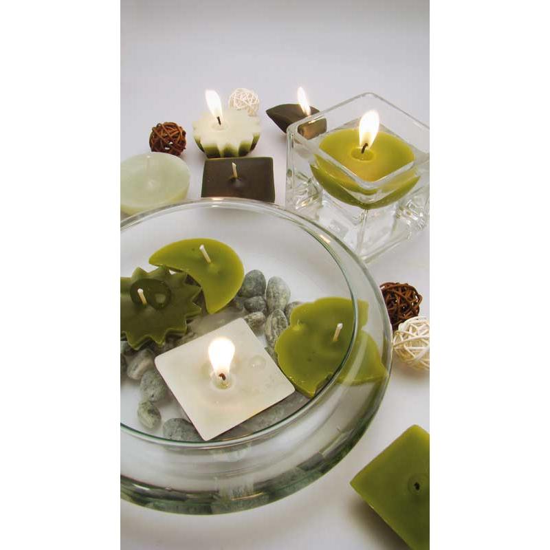 moules pour la cr ation de bougies flottantes et m ches sur pied x perles co. Black Bedroom Furniture Sets. Home Design Ideas