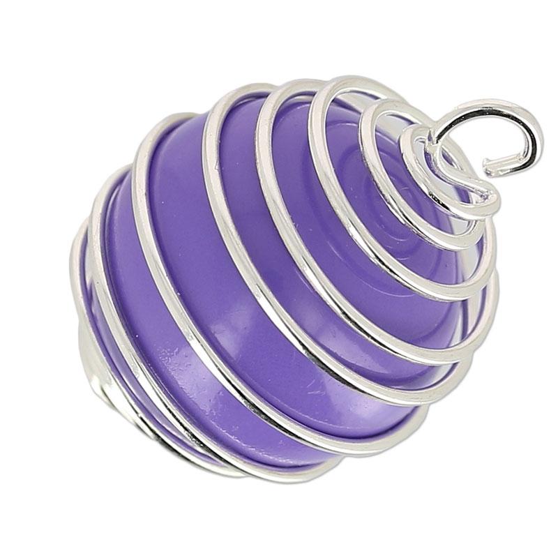 boule pour bola de grossesse 18 mm bleu x1 perles co. Black Bedroom Furniture Sets. Home Design Ideas