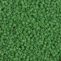 Miyuki Delicas 11/0 DB0724 - Opaque Green x 8g