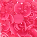 Boutons pressions KAM ronds 12,4 mm Fuchsia x20