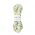 Parachute Cords 2 mm Pastel Mix 5 x 3m