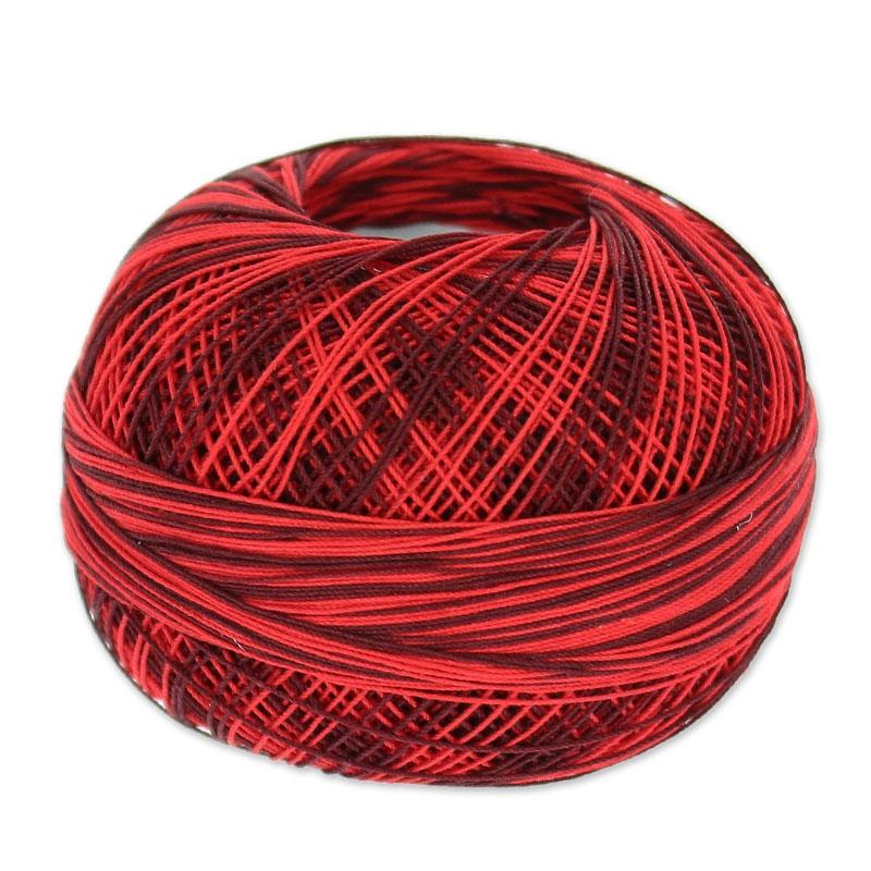 fil de coton lizbeth taille 40 red burst n 147 x274m. Black Bedroom Furniture Sets. Home Design Ideas