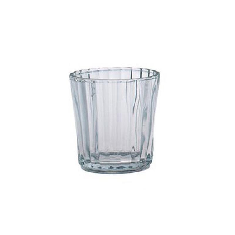 Porte bougie 6 cm en verre x1 perles co - Porte bougie en verre ...