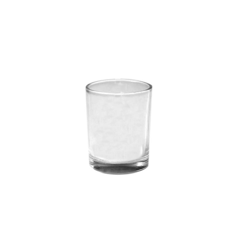 Porte bougie votive 6 cm en verre x1 perles co - Porte bougie en verre ...