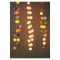 Guirlande lumineuse boules 7 cm Funky x1
