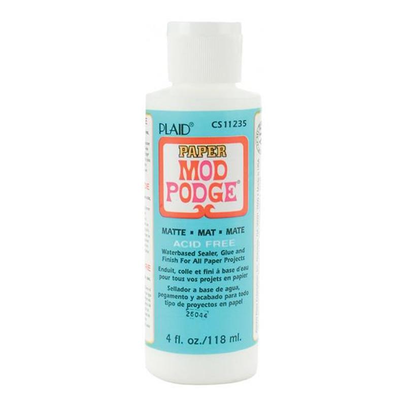 Colle mod podge base d 39 eau mat x118ml perles co - Colle mod podge ...
