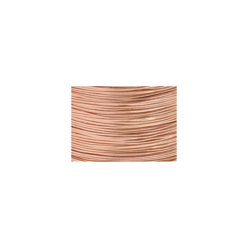 fil de cuivre artistic wire 0 41 mm col bronze phosphoreux x13 7m perles co. Black Bedroom Furniture Sets. Home Design Ideas