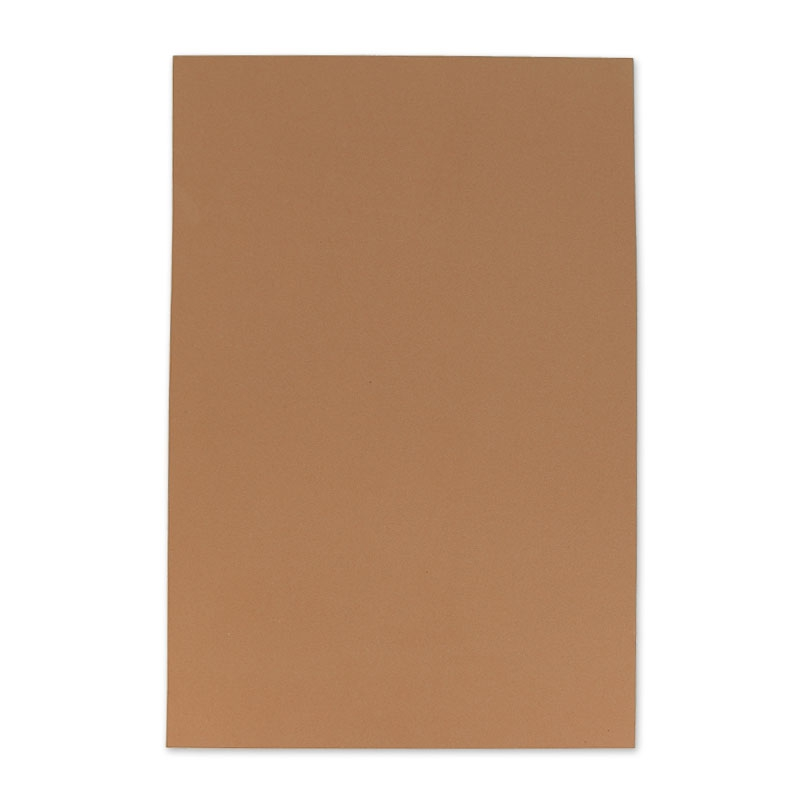 Feuille en mousse thermoformable 20x30cm brun clair x1 for Feuille inox a coller
